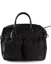 Burberry London Leather Trim Holdall