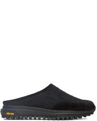 Diemme Black Blue Knit Maggiore Slip On Loafers