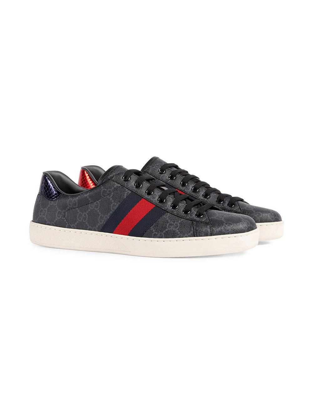 ec1d02306 Gucci Ace Gg Supreme Sneaker, $504   farfetch.com   Lookastic.com