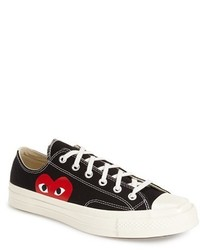Comme des Garcons Play X Converse Chuck Taylor Low Top Sneaker