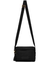 Tom Ford Black Mini Logo Messenger Bag
