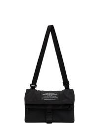 Diesel Black Susegana Echino Messenger Bag