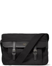 Saint Laurent Canvas Messenger Bag