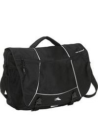 High sierra tank messenger bag black medium 79122