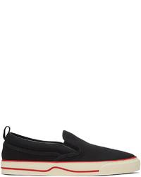 Gucci Black Tennis 1977 Slip On Sneakers