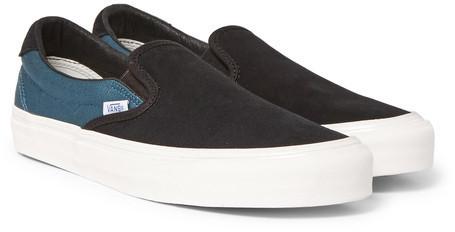 Vans OG 59 LX Suede Slip-On Sneakers discount 2014 newest geniue stockist for sale JO9fOu