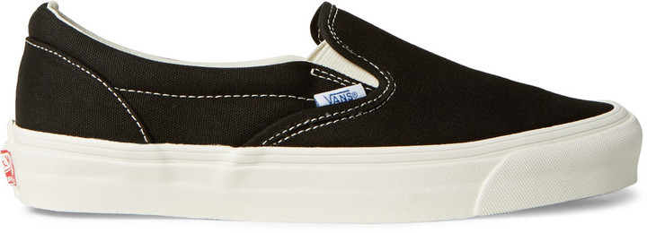 a9685da37f ... Vans Og Classic Lx Canvas Slip On Sneakers ...