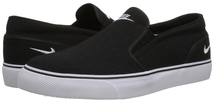 Nike Toki Slip Canvas, $60   Zappos