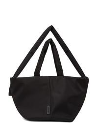 Cote And Ciel Black Amu Sleek Tote Bag