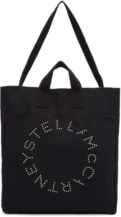 02925061b Stella McCartney Black Beach Tote, $225 | SSENSE | Lookastic.com