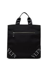 Valentino Black Garavani Vltn Tote Bag