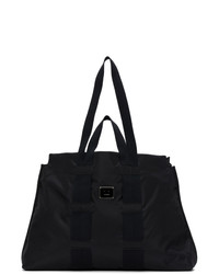 Acne Studios Black Logo Plaque Tote