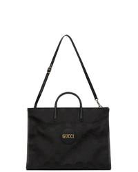 Gucci Black Off The Grid Gg Eco Tote