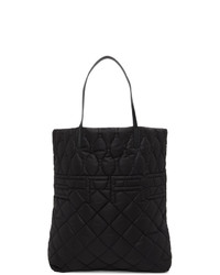 Etro Black Quilted Tote