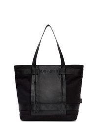 Diesel Black Urbhanity Lupary Shopping Tote