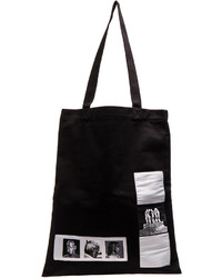 Rick Owens Drkshdw By Medium Tote With Patches
