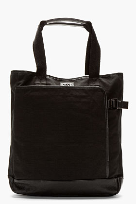 Y-3 Ink Black Canvas Shopper Tote Bag | Where to buy & how to wear