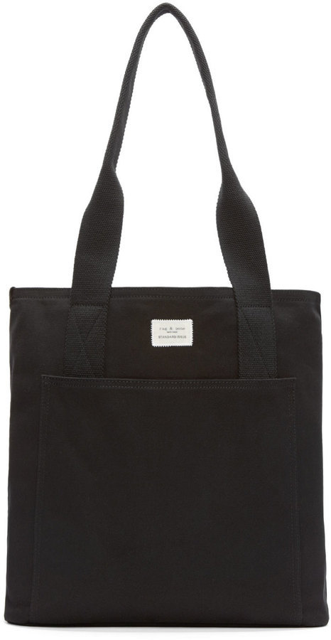 rag & bone Black Canvas Standard Tote Bag | Where to buy & how to wear