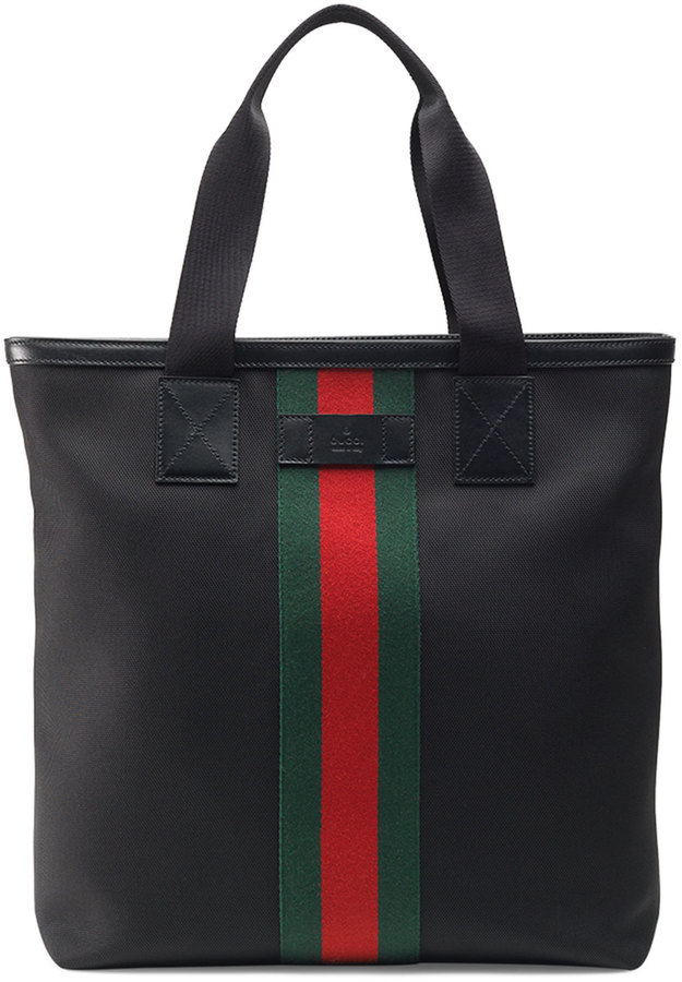 801a0da0891 Gucci Bamboo Two Way Bag Canvas Lxrandco Pre Owned Luxury Vintage ...