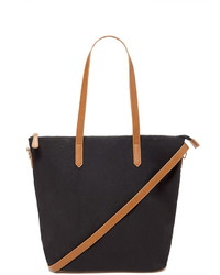 Forever 21 Zip Top Canvas Tote