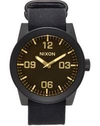 Nixon Corporal Watch Black