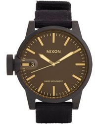 Nixon The Chronicle Watch Black