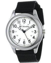 Columbia Unisex Ca016001 Field Fox Black Canvas Watch