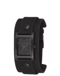 Vestal Ea021 Electra All Black Canvas Watch