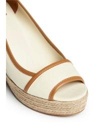 266d1a33ed4b ... Tory Burch Majorca Canvas Espadrille Wedge Sandals ...