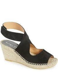 Mobile leather wedge espadrille sandal medium 705500