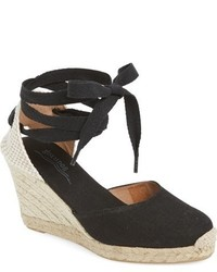 Wedge lace up espadrille sandal medium 705459