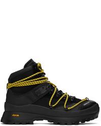 Moncler Black Glacier Boots