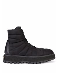 Dolce & Gabbana Quilted Leather Ankle Boots