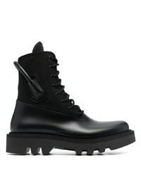 Givenchy Rear Handle Combat Boots