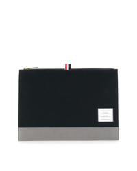 Thom Browne Logo Patch Pouch