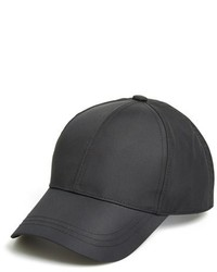 August Hat Nylon Baseball Cap Black