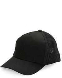 BCBGeneration Lace Baseball Cap