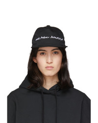 MM6 MAISON MARGIELA Black Logo Cap