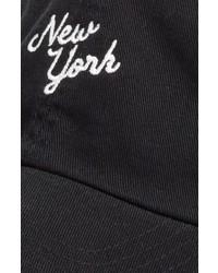 American Needle Boardshort New York Baseball Cap Black