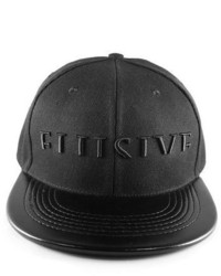 Elusive Horizon Tonal Snapback In Black