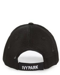 Ivy Park Airtex Mesh Baseball Cap Black