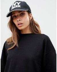 Ivy Park Logo Baseball Cap In Black