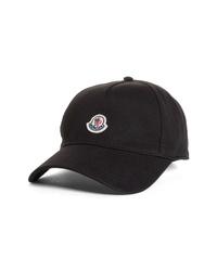 Moncler Logo Patch Baseball Cap