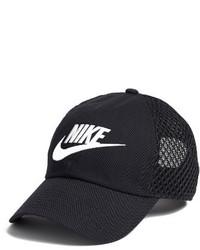 Nike Mesh Baseball Cap Black