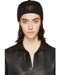 Maison Martin Margiela Mm6 Maison Margiela Black Canvas Small Cap