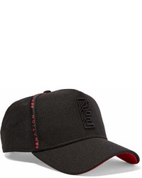 P.E Nation New Era Embroidered Mesh Baseball Cap Black