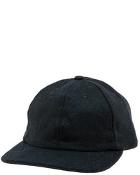 Quintin The Cooper Baseball Cap In Black
