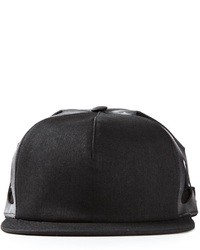 Rick Owens Drkshdw Cut Out Detail Baseball Cap