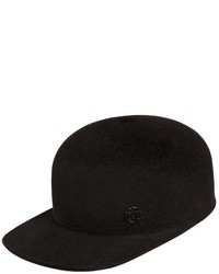 Maison Michel Shariff Rabbit Fur Felt Baseball Cap
