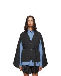 Fumito Ganryu Grey Kimono Blazer